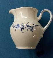 Német, finom TCM porcelán tejszínes/tejes kiöntő, 9 cm magas