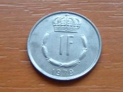 LUXEMBURG 1 FRANK 1979   S+V