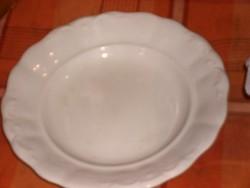 Zsolnay antik lapos tányér