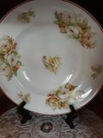 MZ rózsás tányér-falra is akasztható