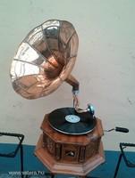 Tölcséres gramofon IV