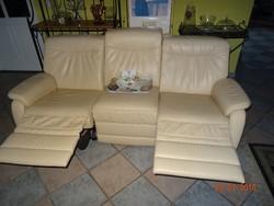 Tv néző, relax fotel, kanapé Natuzzi vasalatokkal újszerű állapotban