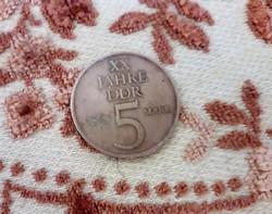 1969 DDR émlék érem
