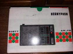 Hornyphon Rádió Gyűjtői Darab