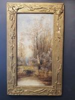 Újházi J festmény