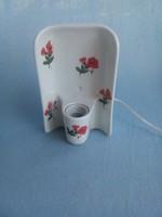 Porcelán fali lámpa