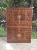 Antik intarziás koreai szekrény. Igazi gyűjtői darab! ázsiai, kelei, kínai, japán