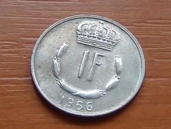 LUXEMBURG 1 FRANK 1966  S+V