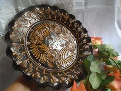 Korondi tányér.  Molnos  Domokos  31 cm.