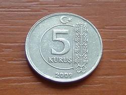 TÖRÖK 5 KURUS 2009   S+V