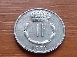LUXEMBURG 1 FRANK 1972  S+V