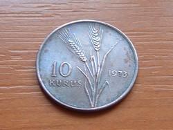 TÖRÖK 10 KURUS 1973   S+V