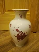 Nagy Herendi Apponyi mintás váza 32 cm