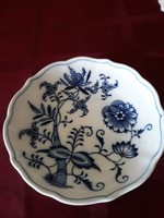 Antik MEISSENI tál,  tányér  13,5cm  Kék fehér  tipikus mintájú hbátlan darab