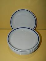 Zsolnay kis tányér 6 db együtt.