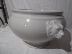 Porcelán - 1930 -as évek FELDA RHÖN  32 x 21,5 x 16,5 cm 3 kg TÖKÉLETES!