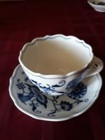 Antik MEISSENI teás csésze+ tányér