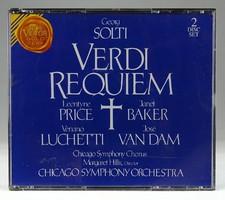 0T053 Giuseppe Verdi : Requiem CD 2 db
