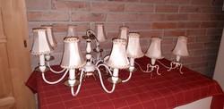 Antik vintage csillar ejjelilampakkal