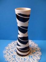 Német Unterweisbach art deco váza