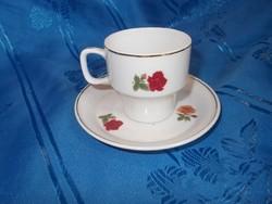 Régi hollóházi kávés csésze