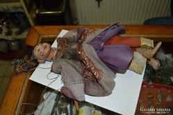 Indonéz marionett figura