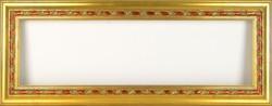 0T079 Aranyozott vágható képkeret 23 x 80 cm