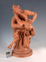 Róna József ( 1861-1931): Faun és nimfa