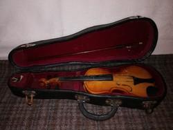 1,-Ft kisméretű gyerek hegedű,tokkal-vonóval!