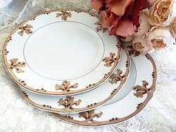 Antik porcelán tányérok, 3db