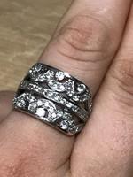 Mesés ezüst gyűrű 17mm