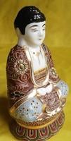Régi porcelán Buddha (Meiji period)jelzett