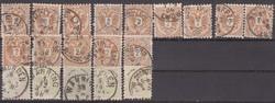 1883. Ausztria, 2-3 Kr.-os összeállítás.