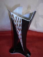 Art deco Unterweissbach porcelán váza