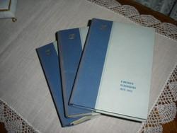 Antik könyvek!  A második vh. 1939-1945   1-2-3 kötetben