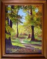 Erdei út EREDETI Moona festmény