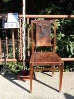 Szecessziós bőr székek