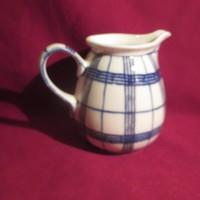 LA6 Régi porcelán kiöntő kancsó 11,5 cm