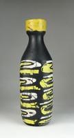 0R417 Régi hibátlan Gorka Lívia kerámia váza 28 cm