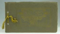 0T148 Régi 20 darabos Vatikán képeslap füzet