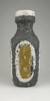 0R116 Gorka Lívia jelzett samott kerámia váza