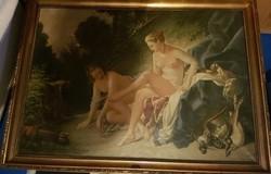 Stein János Gábor nagy méretű festménye!!