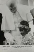0T179 MTI fotó II. János Pál pápa Guineaban 1992