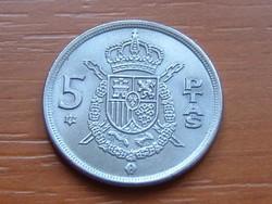 SPANYOL 5 PESETA 1975 (77)
