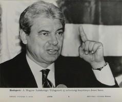 0T188 MTI fotó Jenei Imre szövetségi kapitány 1992