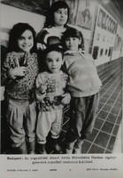 0T203 MTI fotó Cigánygyerekek kiállítása 1992