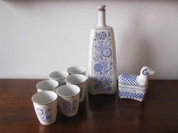Hollóházi porcelán készlet