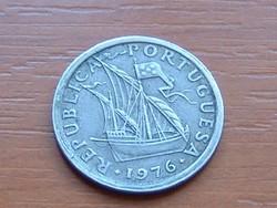 PORTUGÁLIA 2,5 ESCUDOS 1976