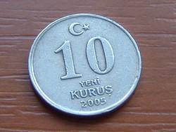 TÖRÖK 10 KURUS 2005