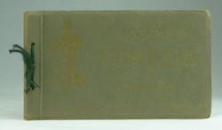 0T147 Régi 20 darabos Firenze képeslap füzet